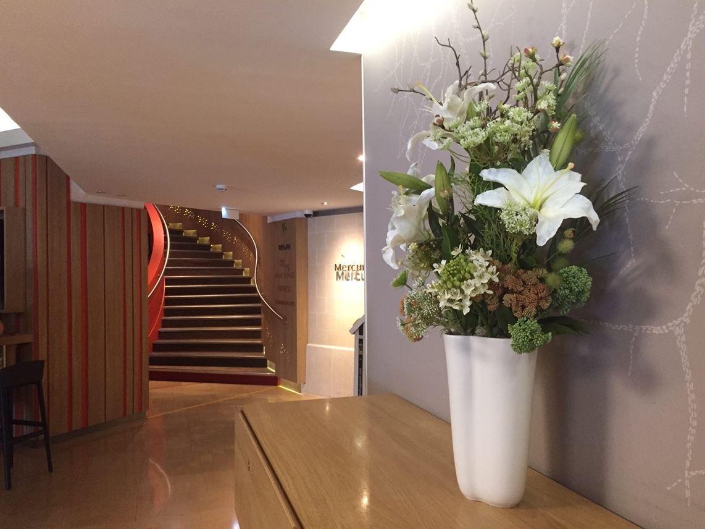 Prestation florale à l'hôtel MERCURE MONTMARTRE SACRE COEUR de Paris